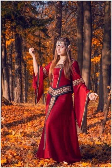 Viduramžių suknelė 3