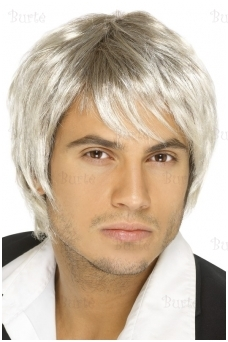 Vyriškas šviesus perukas