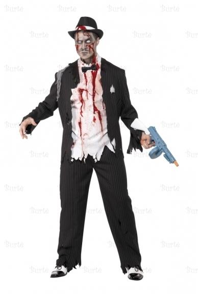 Zombio gangsterio kostiumas
